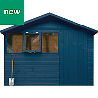 Ronseal Fence life plus Midnight blue Matt Opaque Shed & fence treatment 12L