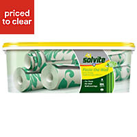 Solvite Paste the wall Ready to roll Wallpaper adhesive 2.5kg
