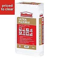 UniBond Ultra flex Powder Wall & floor tile adhesive, White 20kg