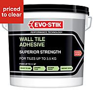 Evo-Stik Superior strength Ready mixed Wall tile adhesive, White 10 L