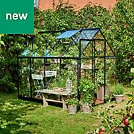 Halls Qube 8x6 Greenhouse