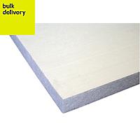Jablite Polystyrene Insulation board (L)2.4m (W)1.2m (T)25mm