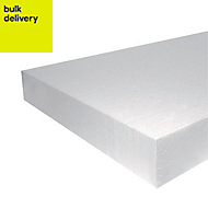 Jablite Polystyrene Insulation board (L)2.4m (W)1.2m (T)100mm