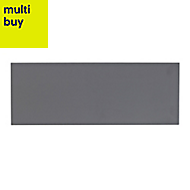 City chic Grey Matt Stone effect Ceramic Wall tile, (L)400mm (W)150mm, Sample