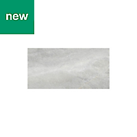 Perla Grey Stone effect Ceramic Tile, Pack of 5, (L)600mm (W)300mm