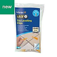 Vitrex LASHCL100 Plastic 172mm Tile levelling spacer, Pack of 100