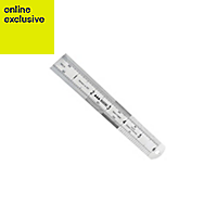 Stanley Steel Ruler, (L)0.3m
