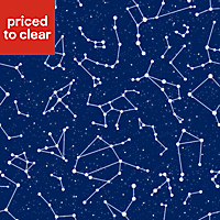 Kids Colours Blue Constellation Smooth Wallpaper