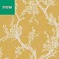 Superfresco Easy Yellow Floral Wallpaper
