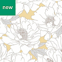 Superfresco Easy Yellow Floral Wallpaper