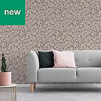 Superfresco Easy Blush pink Floral Wallpaper