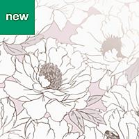 Superfresco Easy Pink Floral Wallpaper