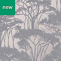 Superfresco Easy Grey Floral Wallpaper