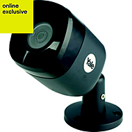 Yale Wired Black Internal & external Bullet camera
