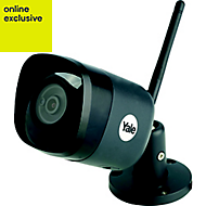 Yale Wireless Black Internal & external Bullet camera