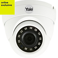 Yale Wired White Internal & external CCTV camera