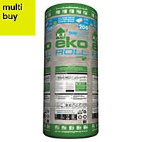 Knauf Eko Roll Loft insulation roll, (L)4.83m (W)1.14m (T)200mm