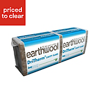 Knauf Earthwool Cavity slab 1200mm 455mm 75mm