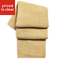 Durran Wheat Knitted Throw
