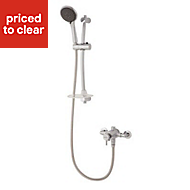 Triton Asana Rear fed Chrome effect Thermostatic Sequential mixer shower
