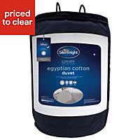 Silentnight 10.5 tog Egyptian cotton King Duvet