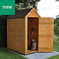 Forest Garden 3x5 Apex Overlap Timber Shed (Base included) - Assembly service included