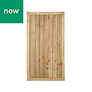 Pine Traditional Gate, (H)1.8m (W)0.92m
