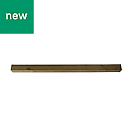 UC4 Timber Fence post (H)1.8m (W)100 mm, Pack of 5