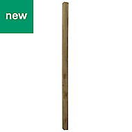 UC4 Timber Square Fence post (H)2.4m (W)75mm, Pack of 3