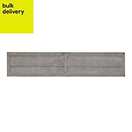 Concrete Gravel board (L)1.83m (W)305mm (T)50mm