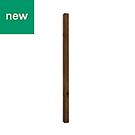 UC4 Brown Timber Fence post (H)1.8m (W)75 mm, Pack of 5