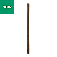 UC4 Brown Timber Fence post (H)2.1m (W)75 mm, Pack of 3