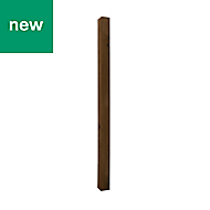 UC4 Brown Timber Fence post (H)1.8m (W)100 mm, Pack of 3