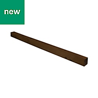 UC4 Brown Timber Fence post (H)1.8m (W)100 mm, Pack of 5