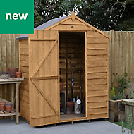 Forest Garden 5x3 Apex Overlap Timber Shed - Assembly service included
