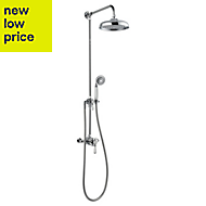 Mira Realm ERD Chrome Thermostatic Single lever mixer shower with diverter