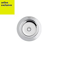 Mira Mode Pumped Ceiling fed Chrome effect Thermostatic Digital mixer shower
