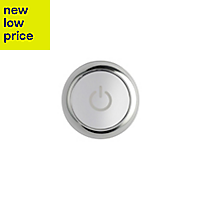 Mira Mode Dual High Pressure Ceiling fed Chrome effect Thermostatic Digital mixer shower