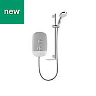Mira Play White Electric shower, 9.5 kW