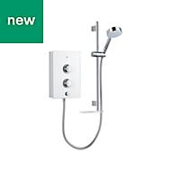 Mira Decor White Electric shower, 9.5 kW