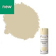 Rust-Oleum Clotted cream Flat matt Furniture spray paint 400 ml