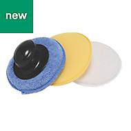 Hilka Pro-Craft Polish Applicator Pads, Pack of 1