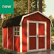 Rowlinson Paramount Buildings 11X8 Barn Tounge & groove Wooden Shed - Base not included