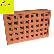 Expamet Red Air brick (L)215mm (W)50mm (H)140mm, Pack of 2