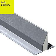Expamet Galvanized steel Lintel (L)1.5m (W)264mm