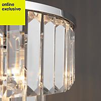 Knightsbridge Mirror effect Pendant Ceiling light