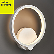 Ralph White Single wall light