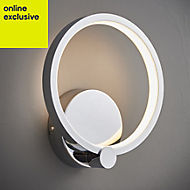 Ralph Chrome effect Single wall light