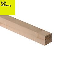 Rough sawn timber (T)47mm (W)50mm (L)2400mm