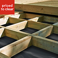 Softwood Deck joist (T)44mm (W)144mm (L)2400mm of 1